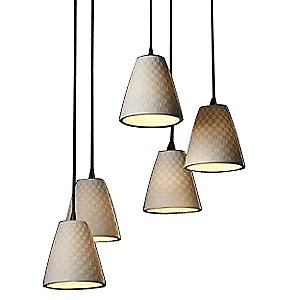 Limoges 5 Light Cluster Pendant by Justice Design