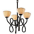 Limoges Capellini Chandelier by Justice Design