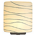 Wave Oval Quadro Wall Sconce by Oggetti Luce