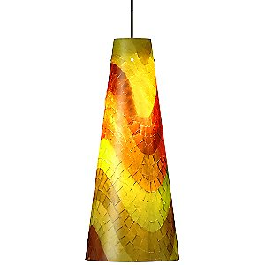 Mosaic Small Fry Pendant by Oggetti Luce