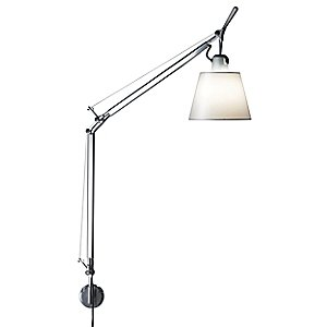 Tolomeo with Shade Wall Lamp by Artemide