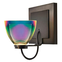 Rainbow I LED Sconce by Bruck Lighting