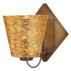 Bling I LED Sconce by Bruck Lighting Systems