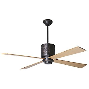 Bodega Ceiling Fan with Optional Light by Period Arts