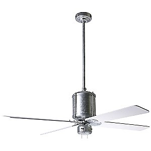 Industry Ceiling Fan with Optional Light by Period Arts