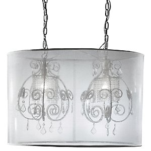 Desire 2 Light Double Pendant by Eurofase