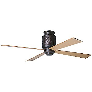 Bodega Hugger Ceiling Fan with Optional Light by Period Arts