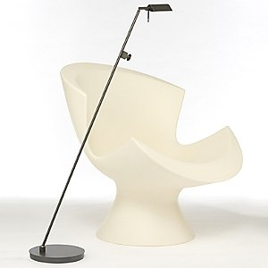 Bernie Series Single Floor Lamp No. 6440/1 by Holtkoetter