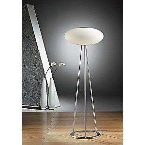 Viennese Kaffeehaus Floor Lamp No. 2509/3 by Holtkoetter