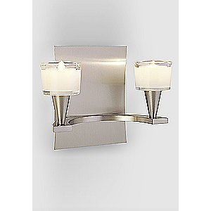 Ludwig 2-Light Wall Sconce No. 5582/2 by Holtkoetter