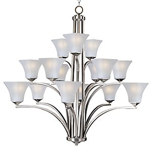 Aurora 15-Light Chandelier by Maxim Lighting