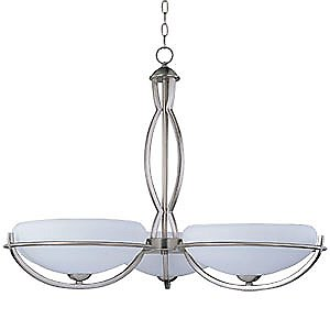 Cupola ES 3 Light Chandelier by Maxim Lighting