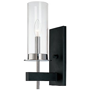 Tuxedo Single Wall Sconce by Sonneman