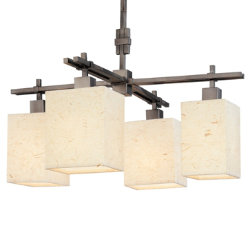 Nikko 4-Light Chandelier by Sonneman