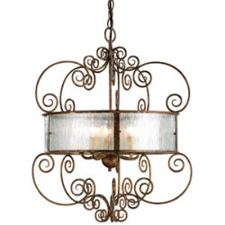 Wizard Chandelier by Currey & Company