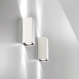 Micro Box Up/Down Wall Sconce by OTY Light