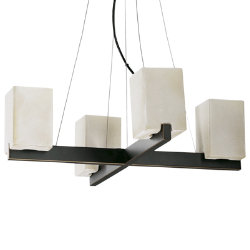 Modus 4-Light Chandelier by Quorum