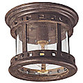 Santa Barbara Aluminum Outdoor Flushmount by Maxim Lighting