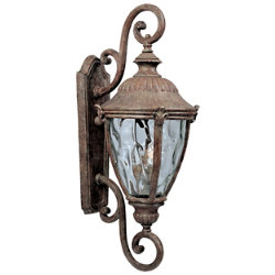 Morrow Bay Outdoor Wall Sconce with Double Scroll by Maxim Lighting