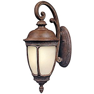 Knob Hill Fluorescent Hanging Outdoor Wall Sconce by Maxim Lighting