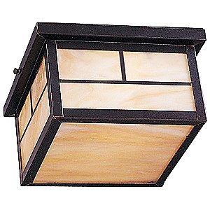 Craftsman Outdoor Flushmount by Maxim Lighting