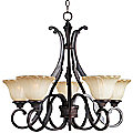 Allentown Uplight Chandelier by Maxim Lighting