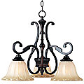 Allentown 3 Light Chandelier by Maxim Lighting
