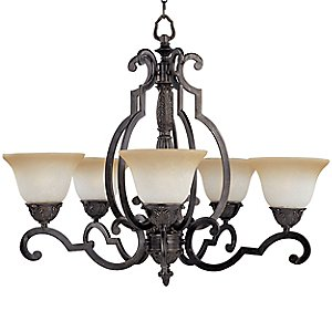 Southern Chandelier by Maxim Lighting