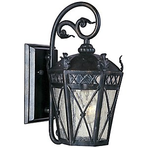 Canterbury Short Outdoor Wall Sconce by Maxim Lighting