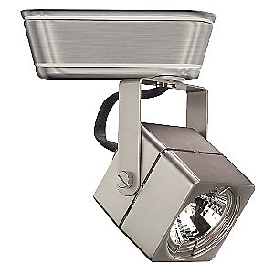 Low Voltage Square 802 Track Head by WAC Lighting