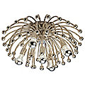 Anemone Flushmount-Sconce by Robert Abbey