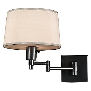 Real Simple Swing Arm Wall Sconce by Robert Abbey