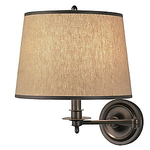 Winston Swing Arm Sconce by Robert Abbey