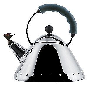 Kettle with Bird Whistle Miniature by Alessi