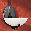 Aegis Oval Wall Sconce with Glass Options by Hubbardton Forge