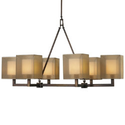 Quadralli No. 331440 Linear Chandelier by Fine Art Lamps