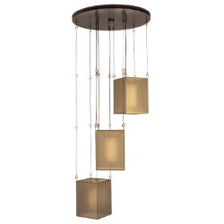 Quadralli No. 435740 Multi Light Suspension by Fine Art Lamps