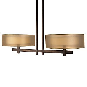 Quadralli No 436240 Linear Chandelier by Fine Art Lamps