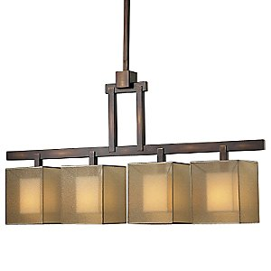 Quadralli No. 330540 Linear Chandelier by Fine Art Lamps