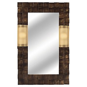 Quadralli Mirror by Fine Art Lamps