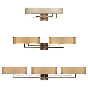 Quadralli Bath Bar by Fine Art Lamps