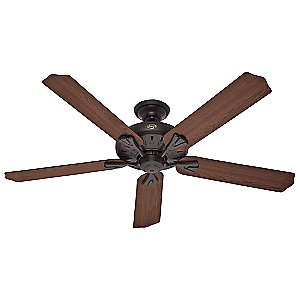 The Royal Oak Ceiling Fan by Hunter Fans