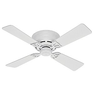42 in Low Profile III Ceiling Fan by Hunter Fans