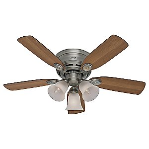 42 in Low Profile III Plus Ceiling Fan by Hunter Fans