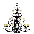 High Country Three-Tier Chandelier by Kichler