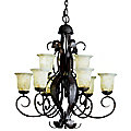 High Country 9-Light Chandelier by Kichler
