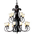 High Country Two-Tier Chandelier by Kichler