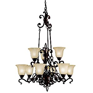 Wilton 9-Light Chandelier by Kichler