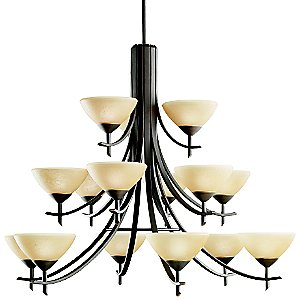 Olympia 15-Light Chandelier by Kichler