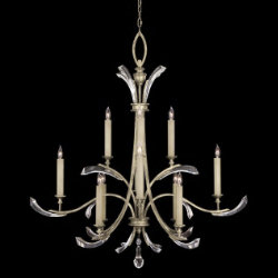Beveled Arcs No. 705340 Chandelier by Fine Art Lamps